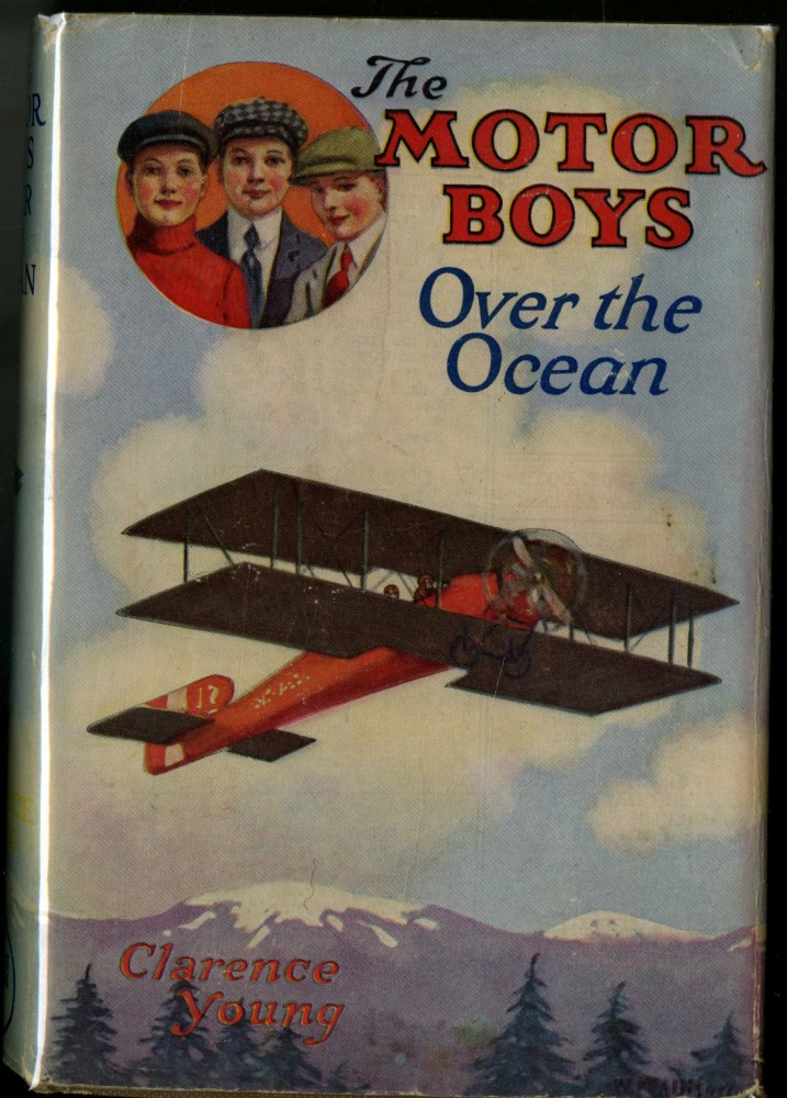 The Motor Boys Over the Ocean. Young Clarence.