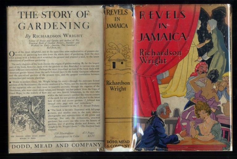 Revels in Jamaica 1682-1838. Wright Richardson.