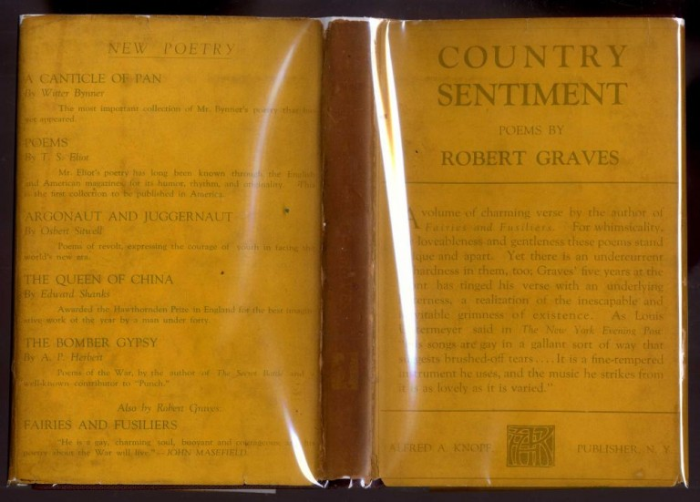 Country Sentiment. Graves Robert.