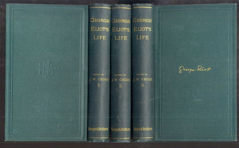 George Eliot's Life as Related in her Letters and Journals. Cross J. W.