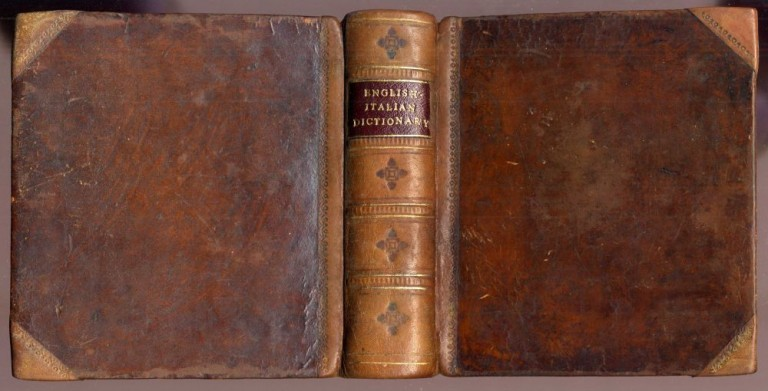An Italian and English Pocket Dictionary in Two Parts. Graglia G.