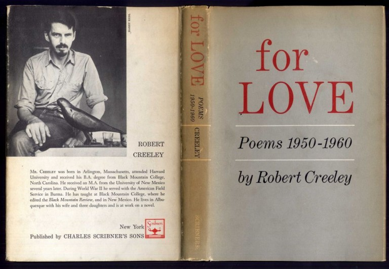 For Love: Poems 1950-1960. Creeley Robert.