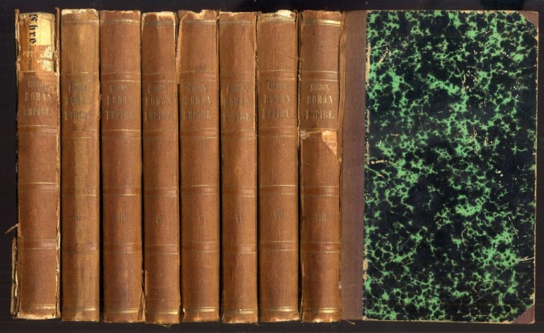 The History of the Decline and Fall of the Roman Empire. Gibbon Edward.