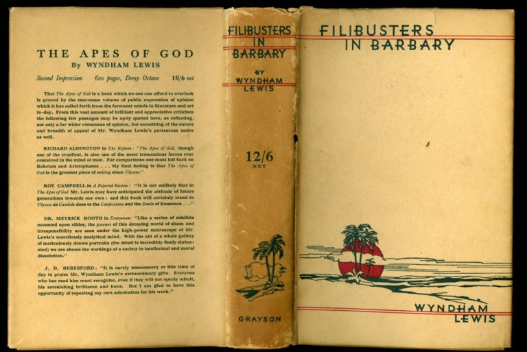 Filibusters in Barbary. Lewis Wyndham.
