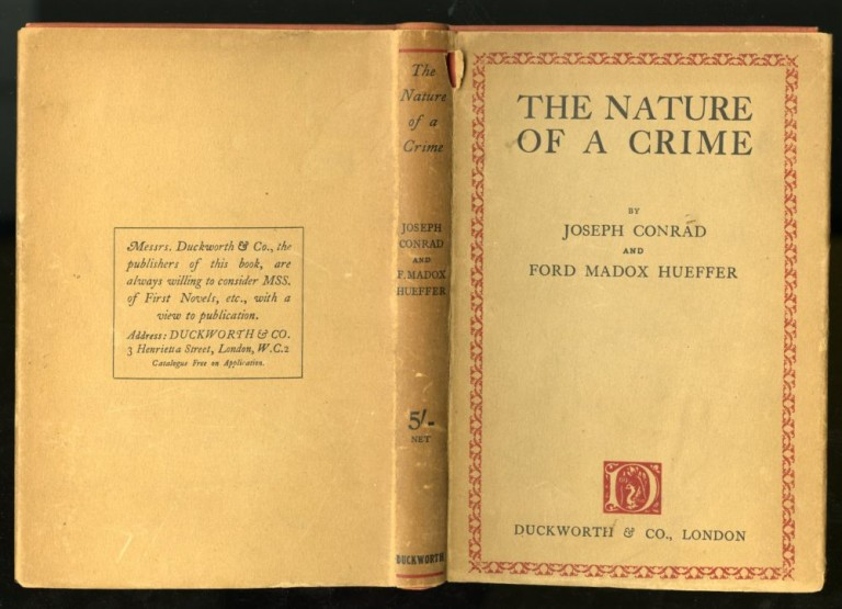 The Nature of a Crime. Joseph Conrad, Ford Madox Hueffer.