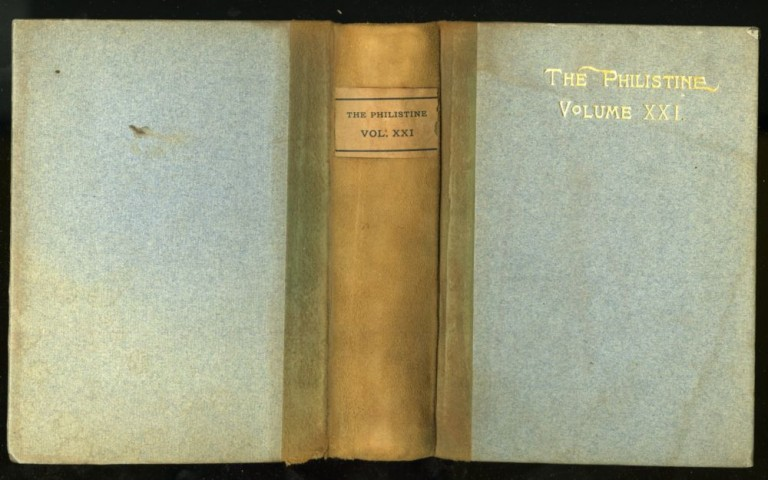 The Philistine: A Periodical of Protest. Volume XXI. Elbert Hubbard.
