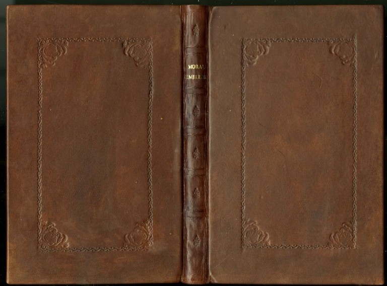 Hermathenae, or, Moral Emblems, and Ethnick Tales. Vol I. Tolson Francis.