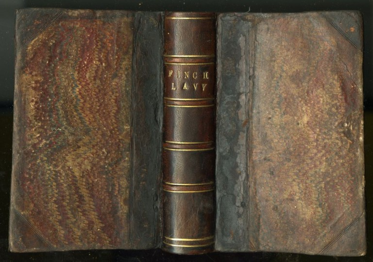 Law; or A Discourse thereof, in foure books written in French by Sir Henry Finch Knight, his Maiesties Serieant at Law. And done into English by the same author. Finch Sir Henry.
