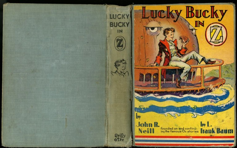 Lucky Bucky in Oz. Neill John R.