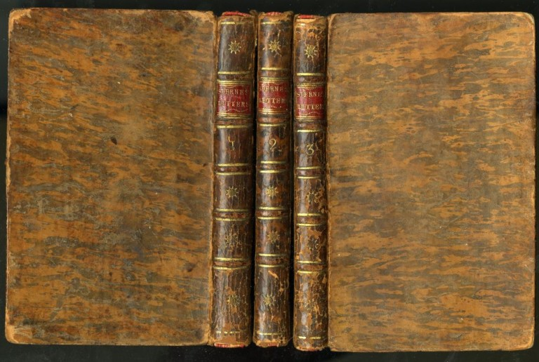 Letters of the Late Rev. Laurence Sterne, To his most intimate Friends. With a Fragment in the Manner of Rabelais. To Which are Prefix'd Memoirs of his Life and Family. Written by Himself. And Published by his Daughter, Mrs. Medalle. Sterne Laurence.