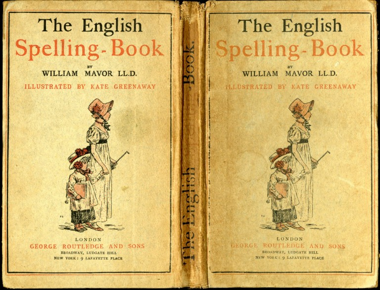 The English Spelling-Book. Mavor William.