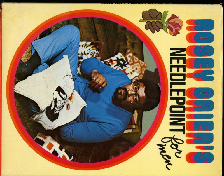 Rosey Grier's Needlepoint For Men. Grier Rosey.