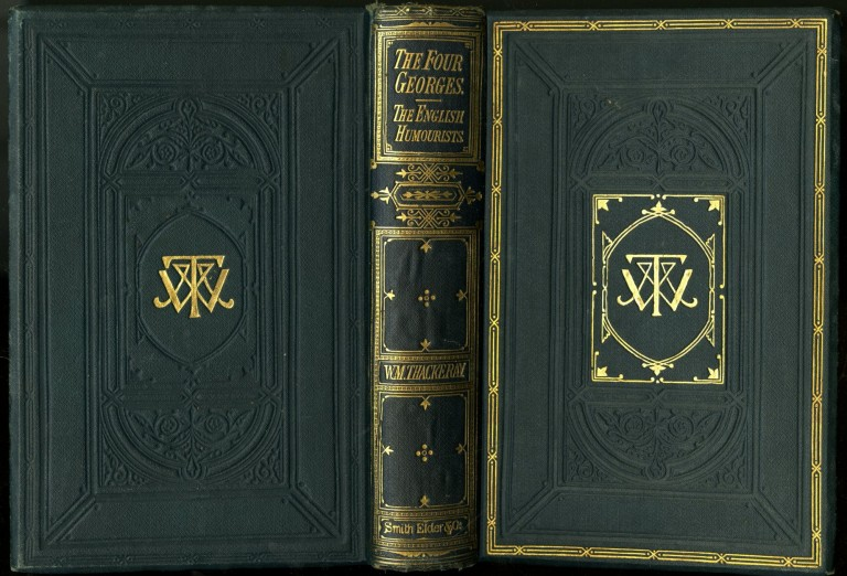 The Four Georges. The English Humourists of the Eighteenth Century. Thackeray W. M.