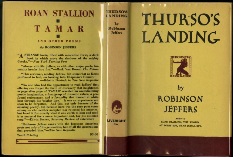 Thurso's Landing and Other Poems. Jeffers Robinson.