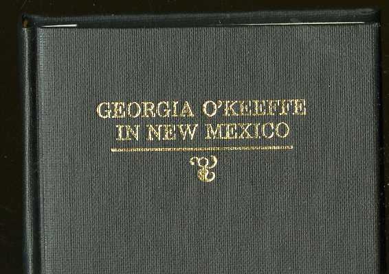 Georgia O'Keefe in New Mexico. Hanson Robert F. Orr.
