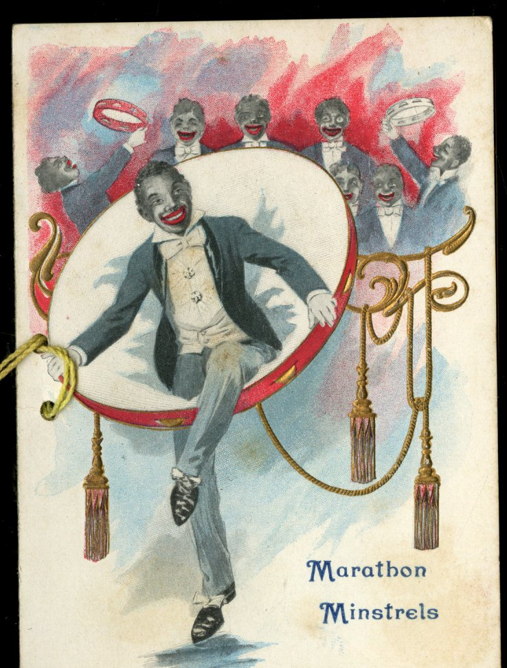 Marathon Minstrel Show Program, The Marathon Club, Haverill MA March 17, 1910. anon.
