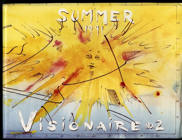 Visionaire 2: Summer 1991, The Travel Issue.