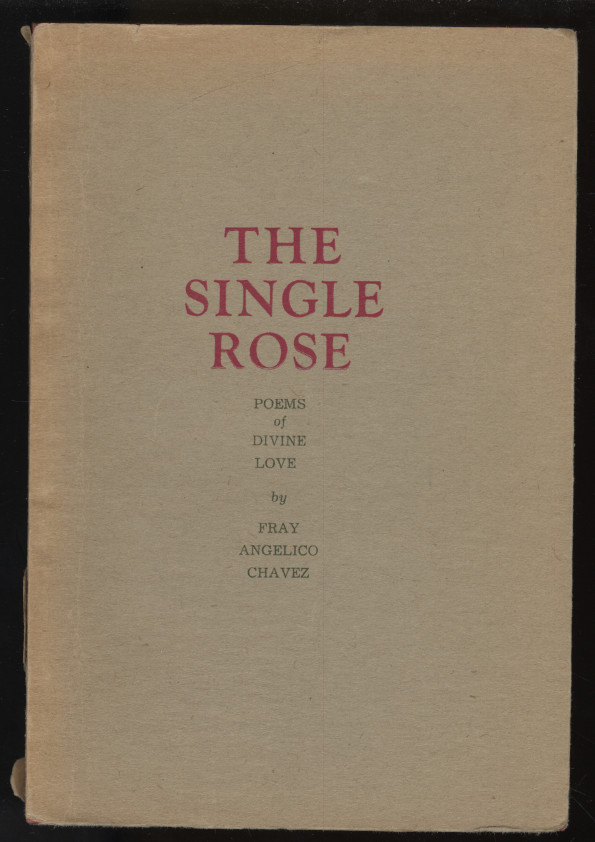 The Single Rose. Chavez Fray Angelico.