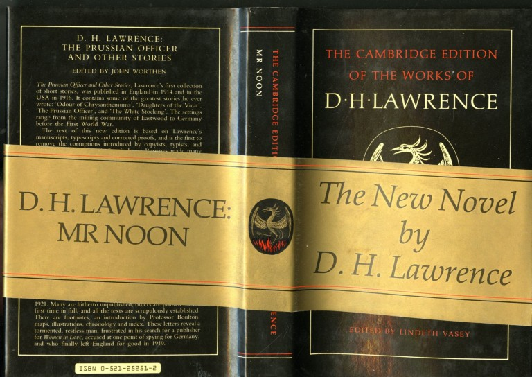 Mr. Noon. Lawrence D. H.