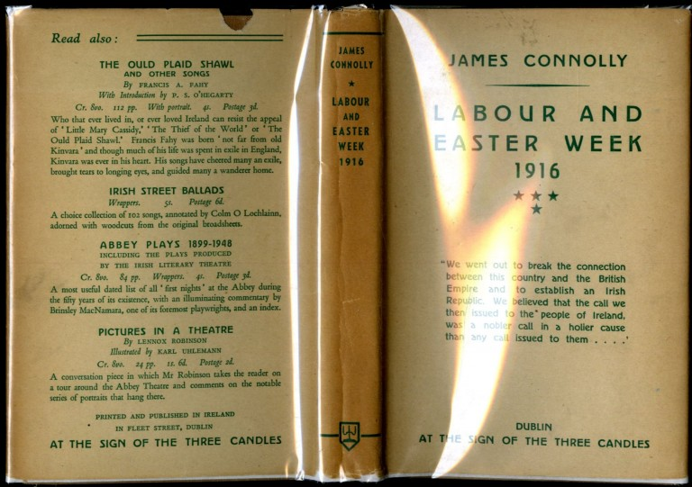Labour and Easter Week 1916. Connolly James.