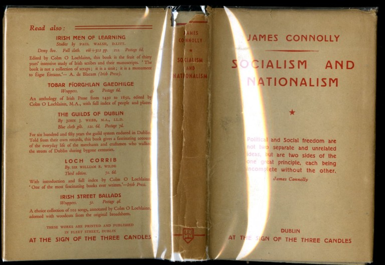 Socialism and Nationalism. Connolly James.