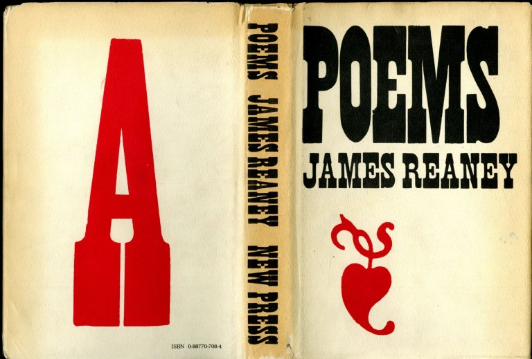 Poems. Reaney James.