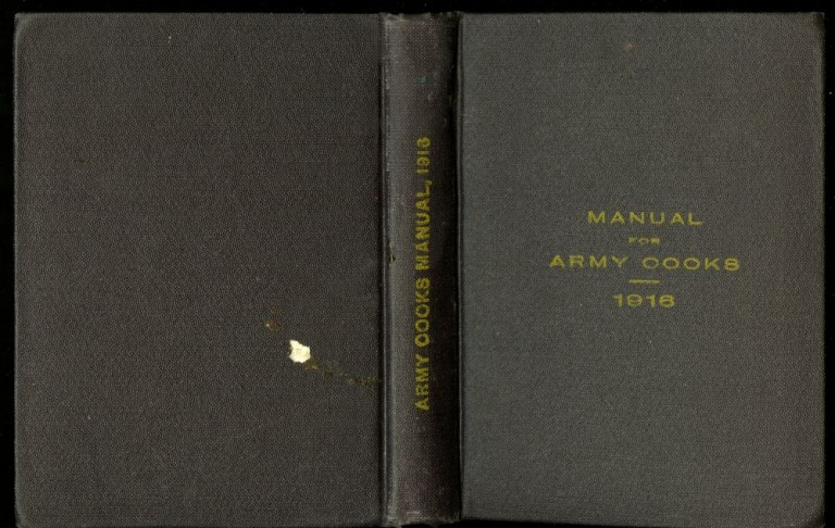 Manual for Army Cooks. anonymous.