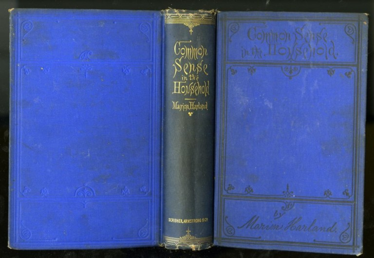 Common Sense in the Household: A Manual of Practical Housewifery. Harland Marion.