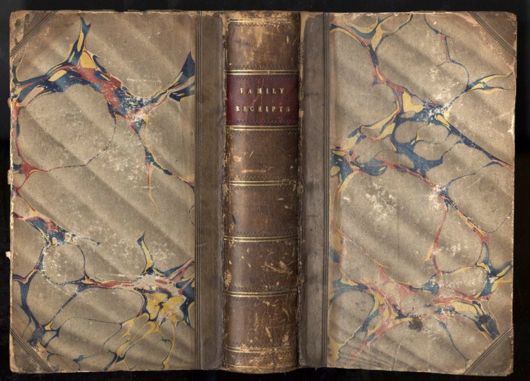 The New Family Receipt-Book; Containing Seven Hundred Truly Valuable Receipts in Various Branches of Domestic Economy. Rundell, doubtfully attributed.