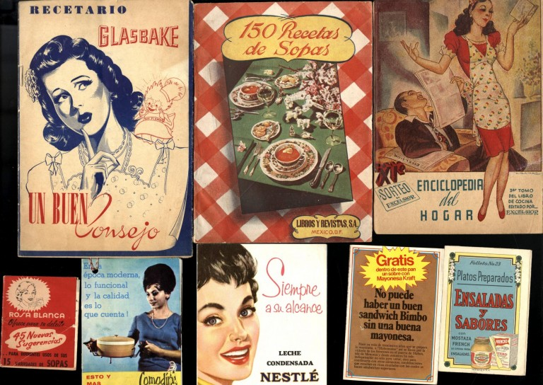 Collection of promotional cookbooks and advertising ephemera.