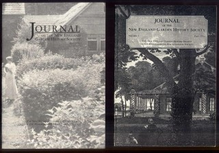 Journal of the New England Garden History Society. Judith b. Tankard