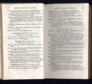 The American Advertising Directory, for Manufacturers and Dealers in American Goods. For the Year 1831