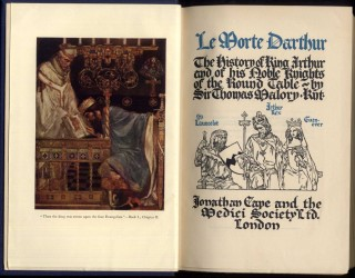 Le Morte D'Arthur: The History of King Arthur and of his Noble Knights of the Round Table