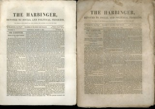 The Harbinger Devoted to Social and Political Progress - Volume II Numbers 11- 17, February 21,...