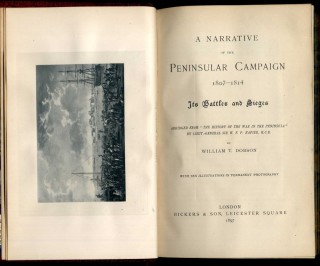 A Narrative of the Peninsular Campaign 1807-1814, Its Battles and Sieges