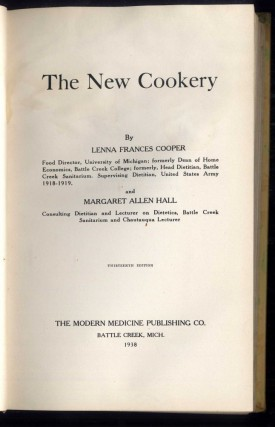 The New Cookery