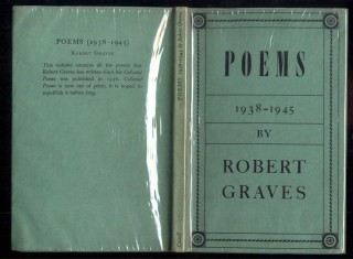 Poems: 1938-1945. Graves Robert.