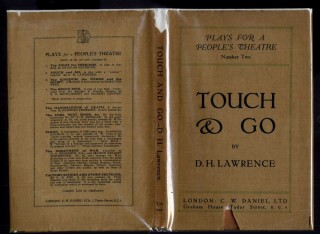 Touch and Go: A Play in Three Acts. Lawrence D. H.