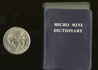 Micro Mini Dictionary. anon.