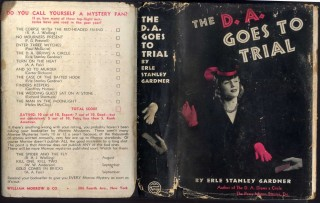 The D.A. Goes to Trial. Gardner Erle Stanley