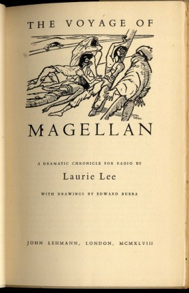 The Voyage of Magellan: A Dramatic Chronicle for Radio