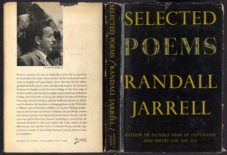 Selected Poems. Jarrell Randall.
