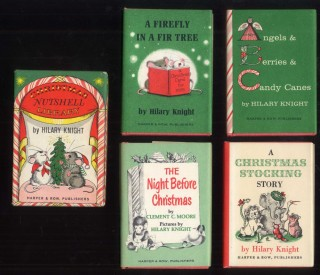 Christmas Nutshell Library - Angels & Berries & Candy Canes; The Night Before Christmas; A Firefly in a Fir Tree; A Christmas Stocking Story