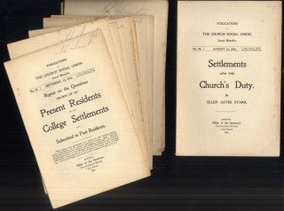 Publications of the Church Social Union August 15, 1896 - July 15, 1897. 12 issues. Nos. 28-39....