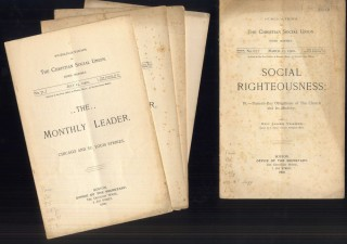 Publications of the Church Social Union: Socialism As an Educative and Social Force on the East Side. May 15, 1898. No. 49