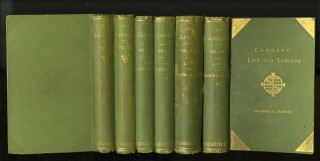 Os Lusiadas (The Lusiads) [with] Camoens: His Life and His Lusiads [with] The Lyricks. 6 volumes. Luis Vaz de Camoens, Richard Francis Burton, trans.