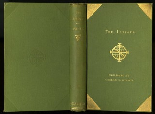 Os Lusiadas (The Lusiads) [with] Camoens: His Life and His Lusiads [with] The Lyricks. 6 volumes.