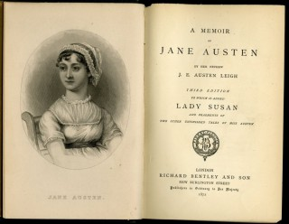 A Memoir of Jane Austen. Third Edition to Which is Added Lady Susan and Fragments of Two Other Unfinished Tales by Miss Austen