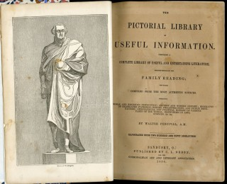 The Pictorial Library of Useful Information. Comprising a Complete Library of Useful and Entertaining Literature...