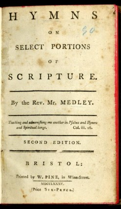 Hymns on Selected Portions of Scripture